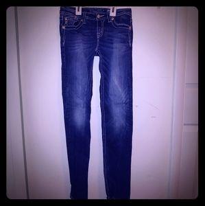 Little girls Sz16 Miss me jeans